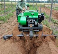 大棚遙控開溝機 遙控定制履帶式旋耕除草機