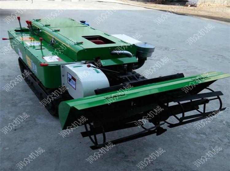 RZ-KG-28-有机肥开沟回填机 带座椅履带式旋耕机