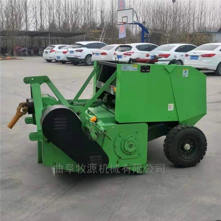 玉米秸秆回收打捆机青贮收割打包机价格