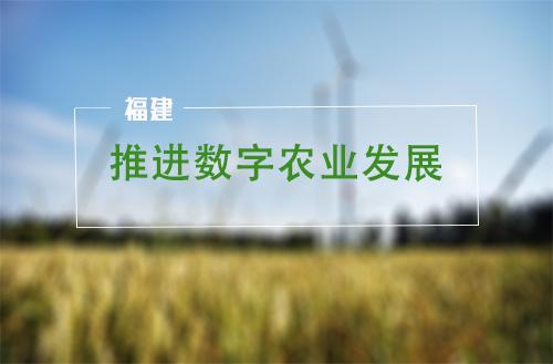 福建:关于加快推进数字农业发展七条措施的通知